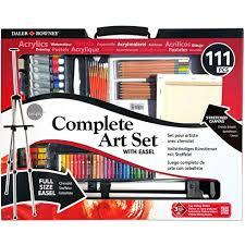 daler rowney simply complete art set of 111 kids painting art
