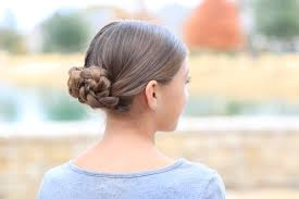 prim u0027s braided bun updo mockingjay hairstyles cute girls