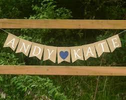 wedding banner sayings bridal shower banner etsy