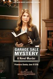 garage sale mystery a novel murder extra large movie poster