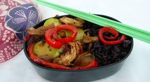 recette cuisine wok recette minceur wok minute bento magazine féminin