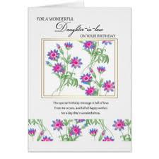 daughter in law birthday cards u0026 invitations zazzle com au