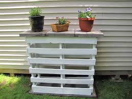 Outdoor Pallet Furniture Pallet Plant Stand Google Search Furniture Pinterest Pallets