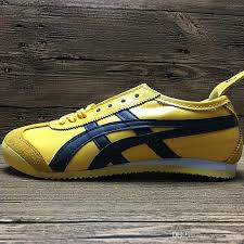 Flatshoes 2017 Asics Tiger Bruce Lee Flat Shoes Running Shoes Mens And