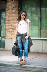 basic jeans and a t shirt