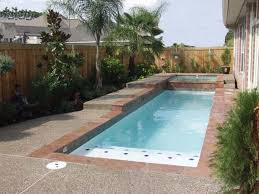 Small Backyard With Pool Landscaping Ideas by Decor Pretty Design Of Small Inground Pools For Small Yards For
