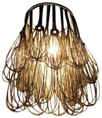 Wire Chandeliers Wire Whisk Chandelier Eclectic Chandeliers By Ecofirstart