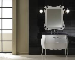 Bathroom Wall Mirror by Bathroom Classic Modern White Bathroom Vanity With Drawers And