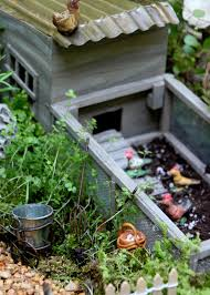 how to make a miniature garden in a container hgtv