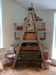 Diy Ladder Bookshelf Maya Made Diy Ladder Shelves