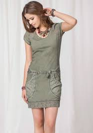 summer dress never die green summer dress 2557 pesto buy online