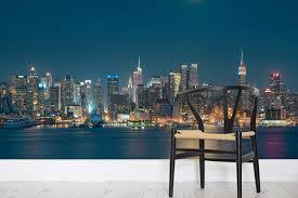 moonlight new york wall mural milexa
