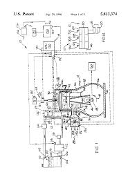 patent us5813374 two cycle engine with electronic fuel injection