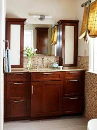 Decorative Bathroom Storage Cabinets Updated Vintage Bath Before And After Bath House And Vintage