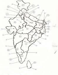 Map Of India States by India States