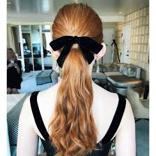 hair ribbon hair bows are 2018 s hair trend