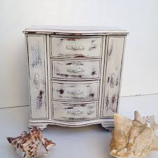 Shabby Chic Jewelry Armoire by Shabby Chic Jewelry Box Home Design Styles