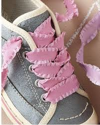 ribbon shoe laces make your own shoelaces crafty ideas nifty crafty