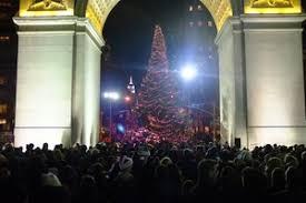 the annual tree lighting the washington square association