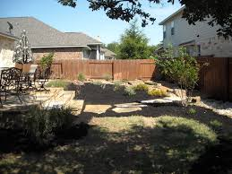 Backyard Landscape Shade Garden With Water Feature Added Containers To Break Up The