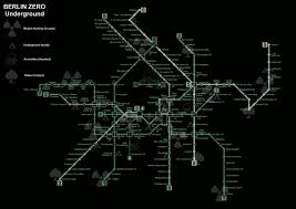 Metro 2033 Map by Summer2010