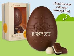 personalized easter eggs personalized easter eggs great easter gift ideas from thorntons