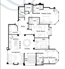 ski chalet house plans ski resort floor plans search hospitality