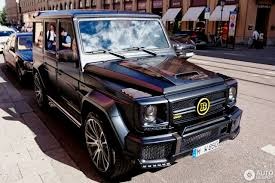 mercedes g class brabus mercedes benz brabus g 850 6 0 biturbo widestar 18 june 2016