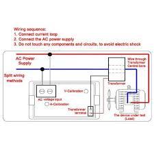 100 300v lcd voltmeter ammeter 2 in 1 panel