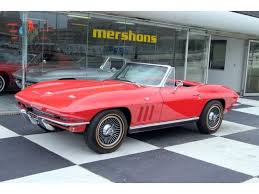 1966 corvette specs 1966 corvette convertible matching numbers 327 4 speed