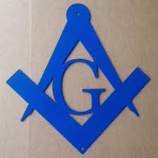 Masonic Home Decor Masonic Metal Wall Sign J5