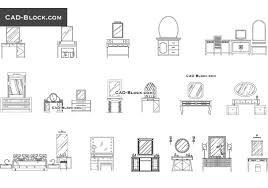 dressing tables cad block blocks pinterest cad blocks and autocad