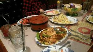 table full of food table full of food just delicious picture of empress of china
