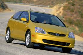 honda civic si through the years history of the front drive sport