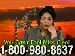 Miss Cleo Meme - you can t fool miss cleo boing boing