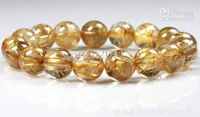 yellow quartz bracelet images 2018 natural golden hair rutilated quartz bracelet 10mm golden jpg