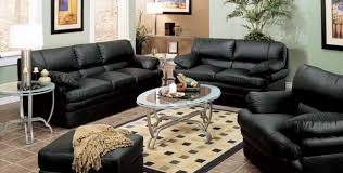 Awesome Black Leather Living Room Set Plan  Italian Leather - Black living room set
