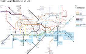 map of the underground in 10 best alternative maps londonist