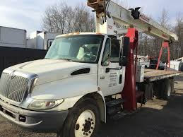 2005 international 4300 18 ton boom truck florida truck