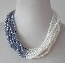 color pearl necklace brief paragraph jewelry europe type