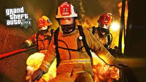 gta 5 pc mods play as a firefighter mod gta 5 firefighter mod
