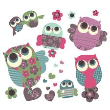 removable fabric wall stickers owls removable fabric wall stickers