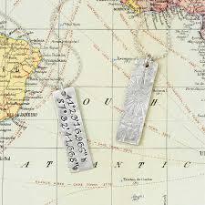 Latitude Longitude Map Usa by Latitude Longitude Cufflinks Personalized Silver French Cuffs