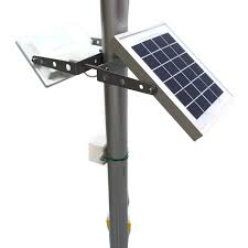 solar powered dusk to dawn light solar guardian streetlight park lighting security light compound
