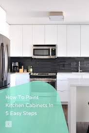 should you paint cabinets or replace countertops how to paint kitchen cabinets in five easy steps kitchen
