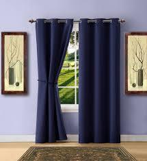 Blue Curtain Valance Warm Home Designs Navy Blackout Curtains Valance Scarves Tie