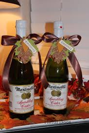 thanksgiving hostess gifts stuck on stampin u0027 the gift of sparkling cider