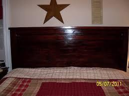 Reclaimed Wood Headboard King Ana White My First Project Reclaimed Wood Look Headboard King