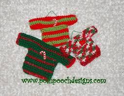 sweater ornaments allfreecrochet