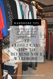 12 closet care tips to refresh your wardrobe